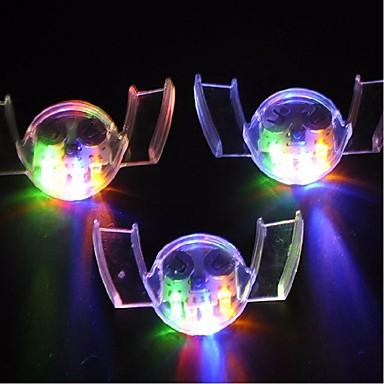 3 Peças LED Night Light Impermeável LED
