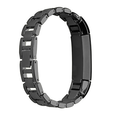 Urrem for Fitbit Alta Fitbit Sportsrem Rustfrit stål Håndledsrem