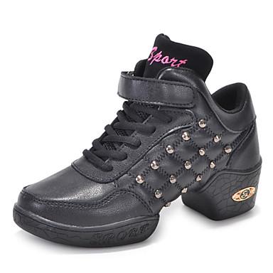 Dansesko(Sort) -Kan ikke tilpasses-Lave hæle-Damer-Moderne