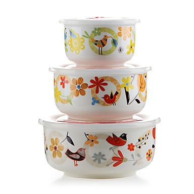 1 Køkken Keramik Madpakkebokse