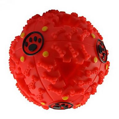 Kauknochen für Katzen Kauspielzeug für Hunde quietschen Futterspender Gummi Für Hund Welpe