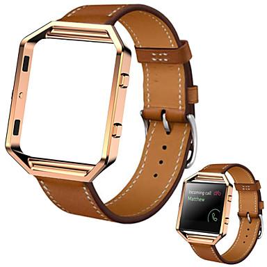 Klokkerem til Fitbit Blaze Fitbit Sportsrem Lær Håndleddsrem
