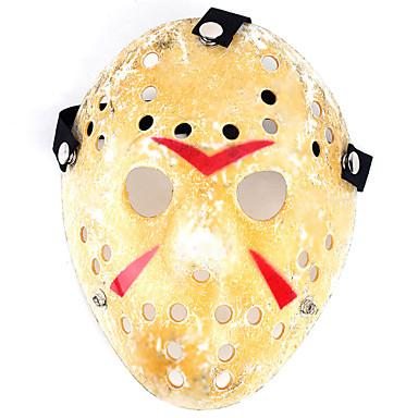 guld antik fest maske madlavning Jason vooorhees freddie hockey festival halloween maske