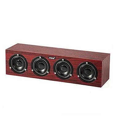 Voor Binnen Docking-luidsprekers Draagbaar 3.5mm AUX USB Subwoofer Zwart Geel Rood