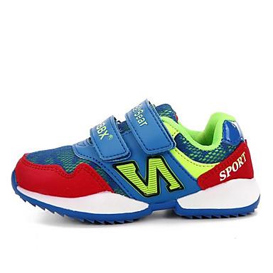 Sneakers-PU-Komfort-Unisex-Rød Blå Lys pink-Fritid-Flad hæl