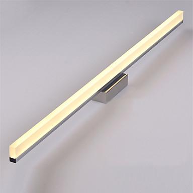 OYLYW Moderno / Contemporáneo Iluminación de baño Dormitorio / Baño Metal Luz de pared IP65 90-240V 16 W / LED Integrado