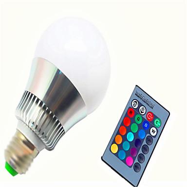 billige Elpærer-1pc 8 W Smart LED-lampe 350-450 lm E14 GU10 E26 / E27 G80 1 LED perler Integrert LED Mulighet for demping Fjernstyrt Dekorativ RGB 85-265 V / 1 stk. / RoHs