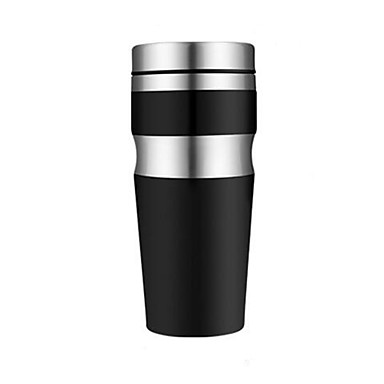 kreative Edelstahl isoliert doppelwandige Reise Kaffeetasse Tasse