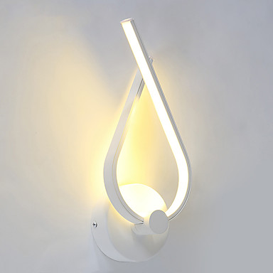 AC 85-265 8W Led Integrado Moderno/Contemporâneo Pintura Característica for LED,Luz Ambiente Lâmpadas de Parede Luz de parede