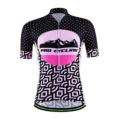 Sport Cykeltrøje Dame Unisex Kort Ærme Cykel Åndbart Hurtigtørrende Fugtpermeabilitet Tilbage til lomme SvedreducerendeSweatshirt