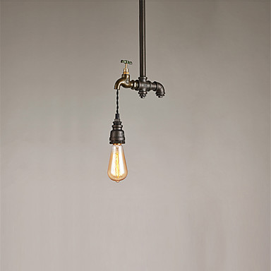 CXYlight Lámparas Colgantes Luz Ambiente - Mini Estilo, 110-120V / 220-240V Bombilla no incluida / 10-15㎡ / E26 / E27