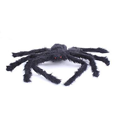 Spinnen Haloween Figuren Herrn / Damen Halloween Fest / Feiertage Halloween Kostüme Schwarz Solide