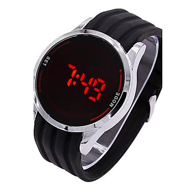 Heren Digitaal Digitaal horloge / Sporthorloge Silicone Band Amulet Zwart
