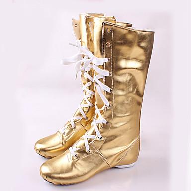 Niet aanpasbaar-Dames-Dance Schoenen(Goud) - metPlatte hak- enJazz