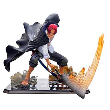נתוני פעילות אנימה קיבל השראה מ One Piece Akakami לא shankusu CM צעצועי דגם בובת צעצוע בגדי ריקוד גברים