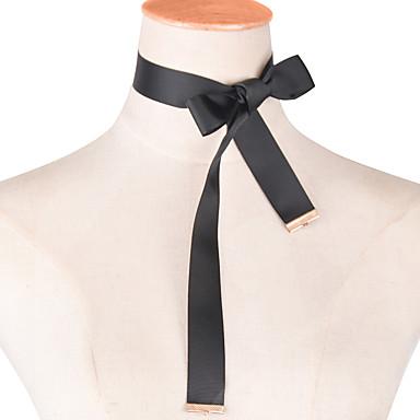 Dame Personaliseret Tassel Mode minimalistisk stil Europæisk Kort halskæde Stof Kort halskæde , Bryllup Fest Daglig Afslappet