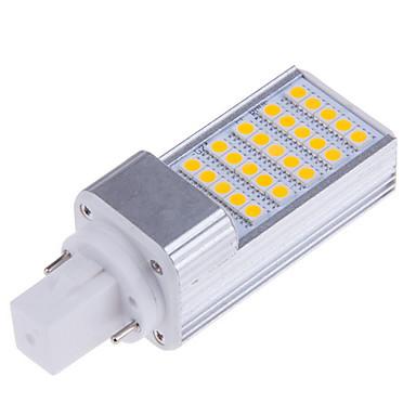 abordables Ampoules électriques-LED à Double Broches 500-700 lm E14 G23 G24 T 25 Perles LED SMD 5050 Décorative Blanc Chaud Blanc Froid 100-240 V 220-240 V 110-130 V / 1 pièce / RoHs / CE