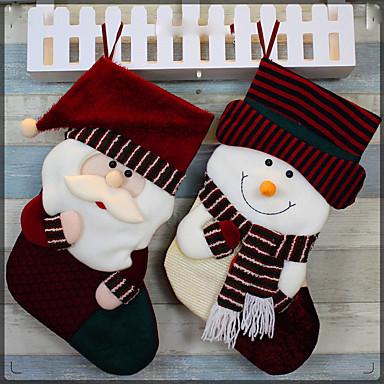 Weihnachten Socken liefert Weihnachtsstrümpfe am Weihnachtstag Weihnachten Socken Ornamente Sankt-Socken