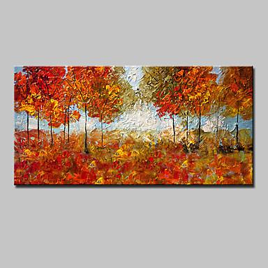 mintura® stor størrelse håndmalt moderne abstrakt landskapsmaleri på lerretveggekunst med strukket ramme klar til å henge