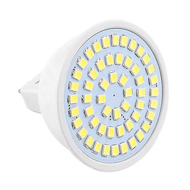 YWXLIGHT® 400-500lm GU5.3(MR16) LED-spotpærer MR16 54 LED perler SMD 2835 Dekorativ Varm hvit Kjølig hvit 9-30V