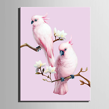 Dieren Europese Stijl, Eén paneel Kangas Verticaal Print Muurdecoratie Huisdecoratie