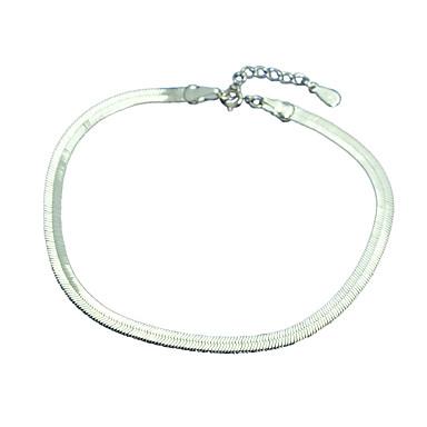 Damen Ketten- & Glieder-Armbänder Manschetten-Armbänder Modisch Sterling Silber Anderen Schmuck Party Alltag Normal Modeschmuck Silber