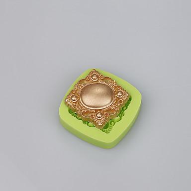 Bakvormen gereedschappen silica Gel / Siliconen Milieuvriendelijk / Anti-aanbak / Handvatten Cake / Koekje / Cupcake Leivontityökalu