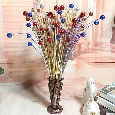 1 1 Tak Piepschuim / Kunststof Planten Bloemen voor op tafel Kunstbloemen 19.6inch/50cm