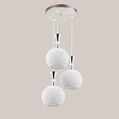 Modern/Çağdaş LED Avize Lambalar Ortam Işığı Mutfak Yemek Odası Metal Ampul dahil değil 110-120V 220-240V Sıcak Beyaz