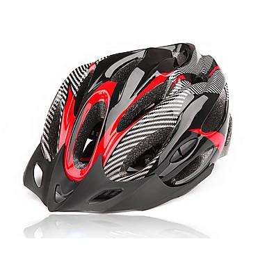Capacete de bicicleta 20 Aberturas Ciclismo Montanha Fibra de Carbono + EPS Ciclismo / Moto Bicicleta De Montanha/BTT