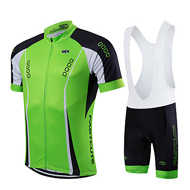 Fastcute Homens Mulheres Manga Curta Camisa com Bermuda Bretelle Moto Calções Bibes Tights Bib Camisa/Roupas Para Esporte Conjuntos de