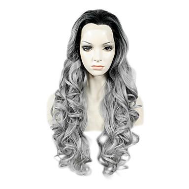 Pruik Lace Front Synthetisch Haar Golvend Dames Kanten Voorkant Kanten pruik Synthetisch haar