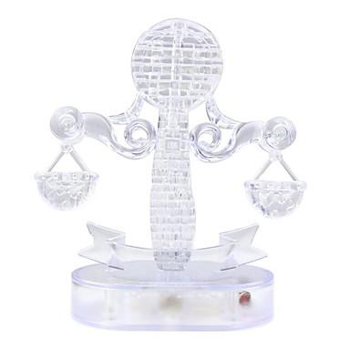 3D-puslespill Puslespill Krystallpuslespill Moro Krystall Plast Klassisk Gave
