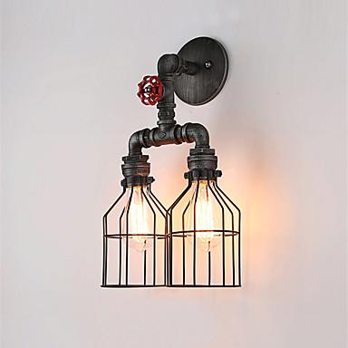 CXYlight Rústico / Campestre / Vintage / Retro Lámparas de pared Metal Luz de pared 110-120V / 220-240V 60 W / E26 / E27