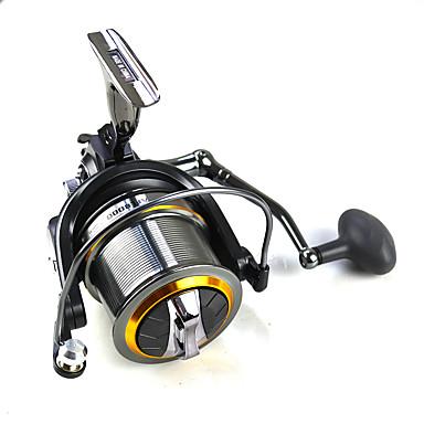 Carretes de lanzamiento 4:7:1 Relación de transmisión+11 Rodamientos de bolas Orientación de las manos Intercambiable Pesca de Mar - AFL12000
