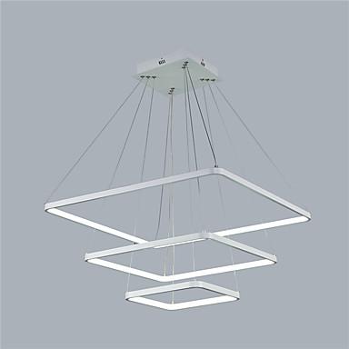 Pendelleuchten Raumbeleuchtung Andere Metall Acryl LED 110-120V / 220-240V Wärm Weiß / Weiß / Dimmbar mit Fernbedienung LED-Lichtquelle enthalten / integrierte LED