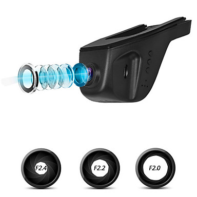 ITRUE Geen Screen (output door APP) SQ SD-kaart Zwart Auto Camera