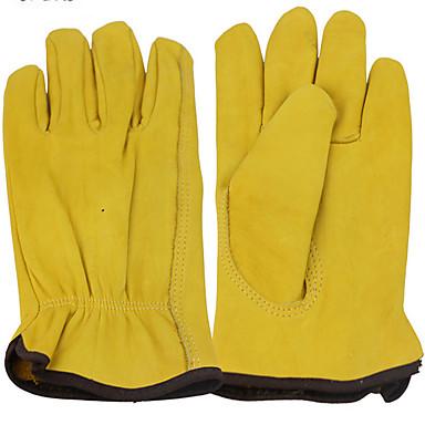 segurança em nível ab cor luvas de protecção amarelo dourado