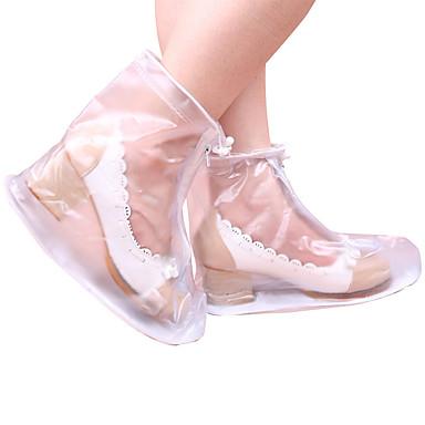 2pcs Gimnasio, Correr & Yoga Cubrezapatos El plastico Todos los Zapatos Todas las Temporadas Mujer Blanco / Negro