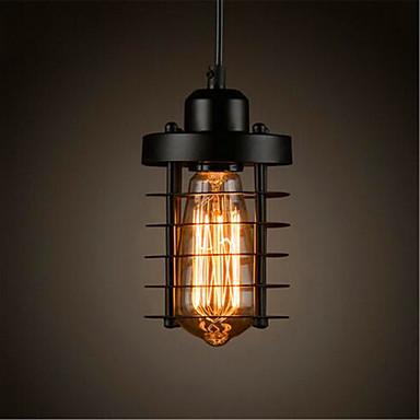 Cilindro Lámparas Colgantes Luz Ambiente - Mini Estilo, LED, Los diseñadores, 110-120V / 220-240V Bombilla incluida / 5-10㎡ / E26 / E27