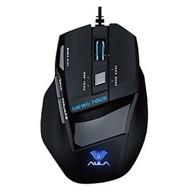 aula gaming muis ziel ijs versie 7d professionele multimedia dual-mode muis linkerhand toepassen 2000dpi 7keys