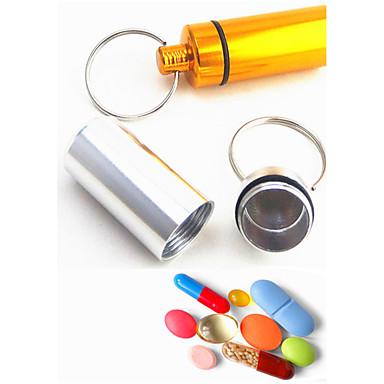 Schlüsselanhänger Spielzeuge Schlüsselanhänger Multifunktion Zylinderförmig Metal Aluminium Gute Qualität Stücke Weihnachten Geburtstag