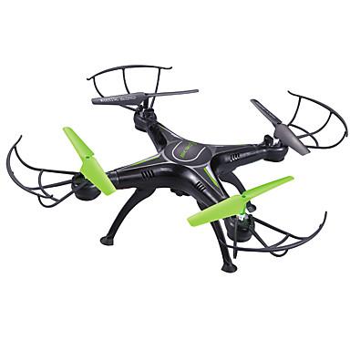 RC Drone SKRC Q16 4 Kanaler 6 Akse 2.4G Med 0.5MP HD-kamera Fjernstyrt quadkopter LED Lys / En Tast For Retur / Hodeløs Modus Fjernstyrt Quadkopter / Fjernkontroll / Kamera