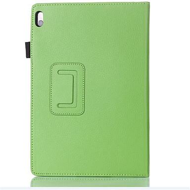 hoesje Voor Lenovo Volledig hoesje tablet Cases Effen Hard PU-nahka voor