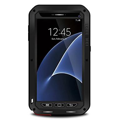 ケース 用途 Samsung Galaxy S7 edge S7 水/汚れ/ショックプルーフ フルボディー 純色 ハード 金属 のために S7 edge S7 S6 edge S6 S5
