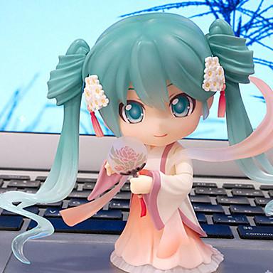 Anime Action Figurer Inspirert av Cosplay Hatsune Miku PVC 10 cm CM Modell Leker Dukke