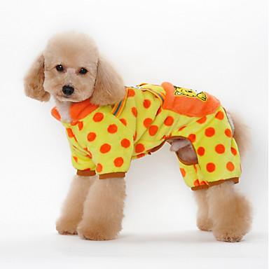Koira Hupparit Koiran vaatteet Sievä Rento/arki Kukka Musta Oranssi Keltainen Pinkki