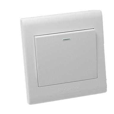 K3シリーズ1スイッチ販売のためのプラスチック製の棚フリップスイッチ/ 3パック