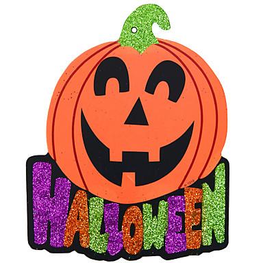 1pc het spookhuis bar scene props Halloween pompoenen skelet guirlande decoratie leveringen aantal labels