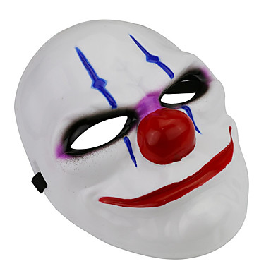 cheap Masks-Halloween Masks Masquerade Masks Joker Movie Character Horror Theme 1
